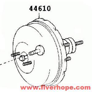 44610 52281 52520 Brake Booster Toyota Ist