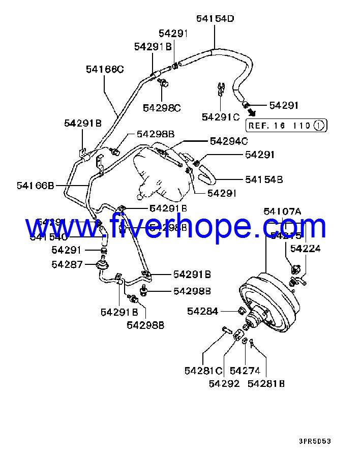 jkc 862 03602 master vac brake booster servo freno. Black Bedroom Furniture Sets. Home Design Ideas