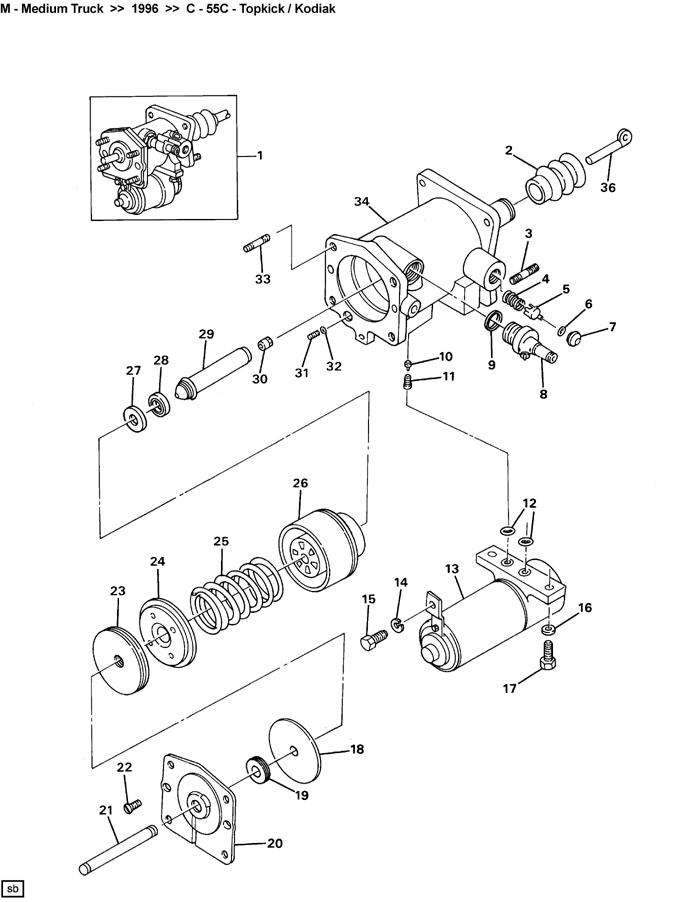 hydro boost 18020383 18020710 chevrolet c60 kodiak gmc b7 hydraulic brake booster auto brake. Black Bedroom Furniture Sets. Home Design Ideas